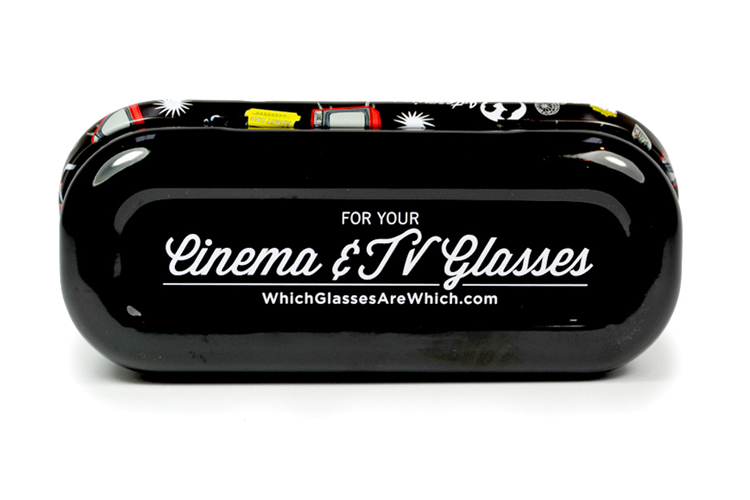 Cinema glasses case bottom