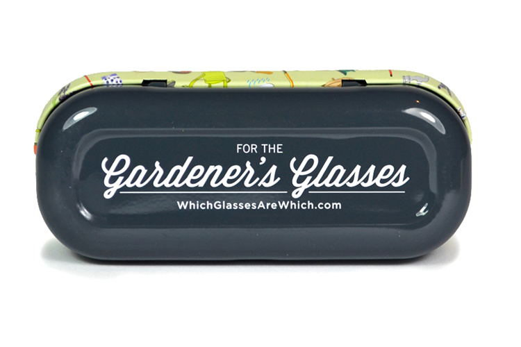 Gardening glasses case bottom